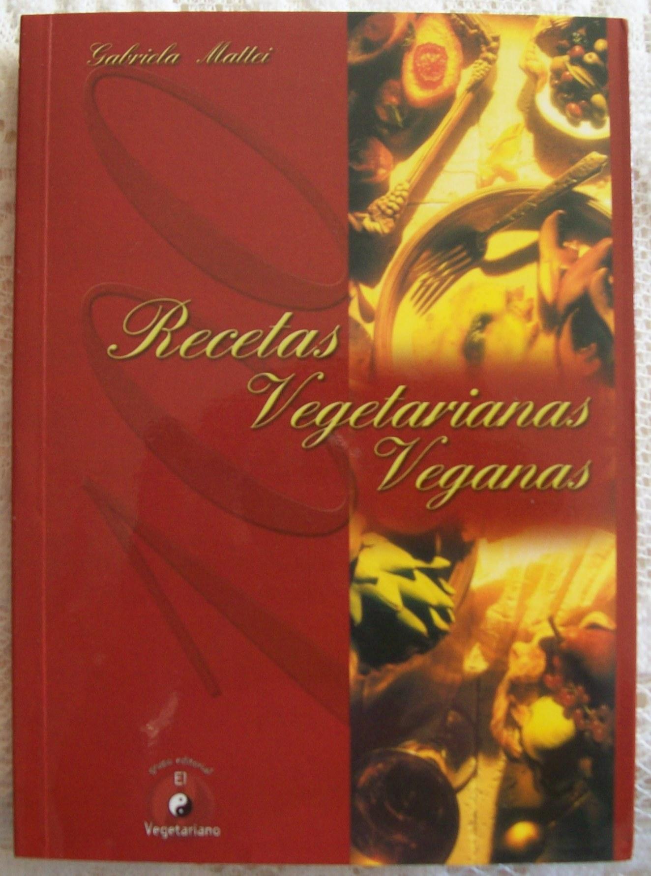 Libro cien recetas vegetarianas veganas de gabriela for Libro cocina vegetariana